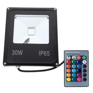 PREMIUMLUX LED reflektor IR RAINBOW venkovní 30W RGB EPISTAR, černý